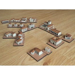 Spanish colonial town