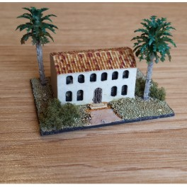 Oblique wall building