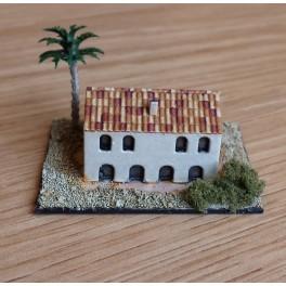 Building with smokestack