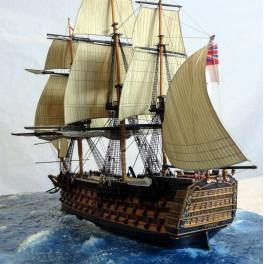 E: 1/300. HMS Victory.