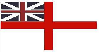 white English flag